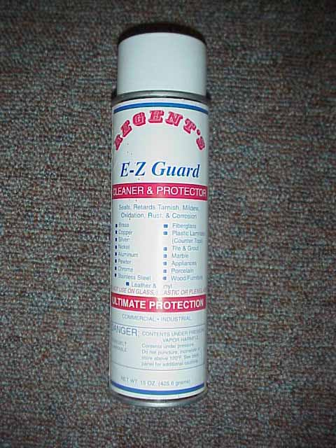 E-Z Guard is formulated to clean and protect wood, metal, leather and other surfaces.